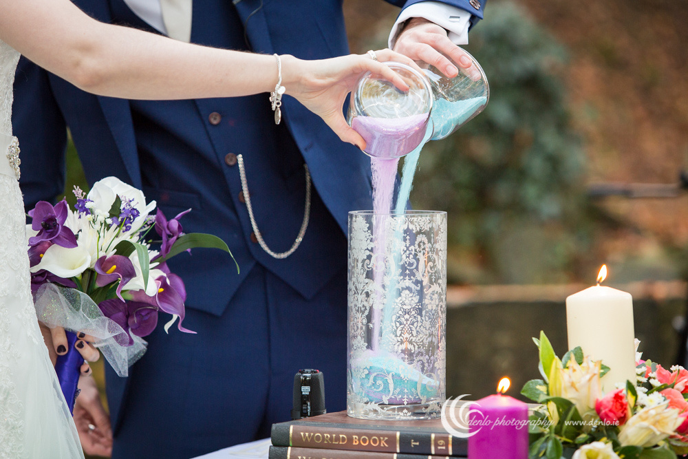 Outdoor wedding ceremony at Stationhouse Hotel-3199