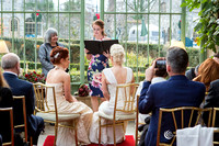 The two girls wedding ceremony