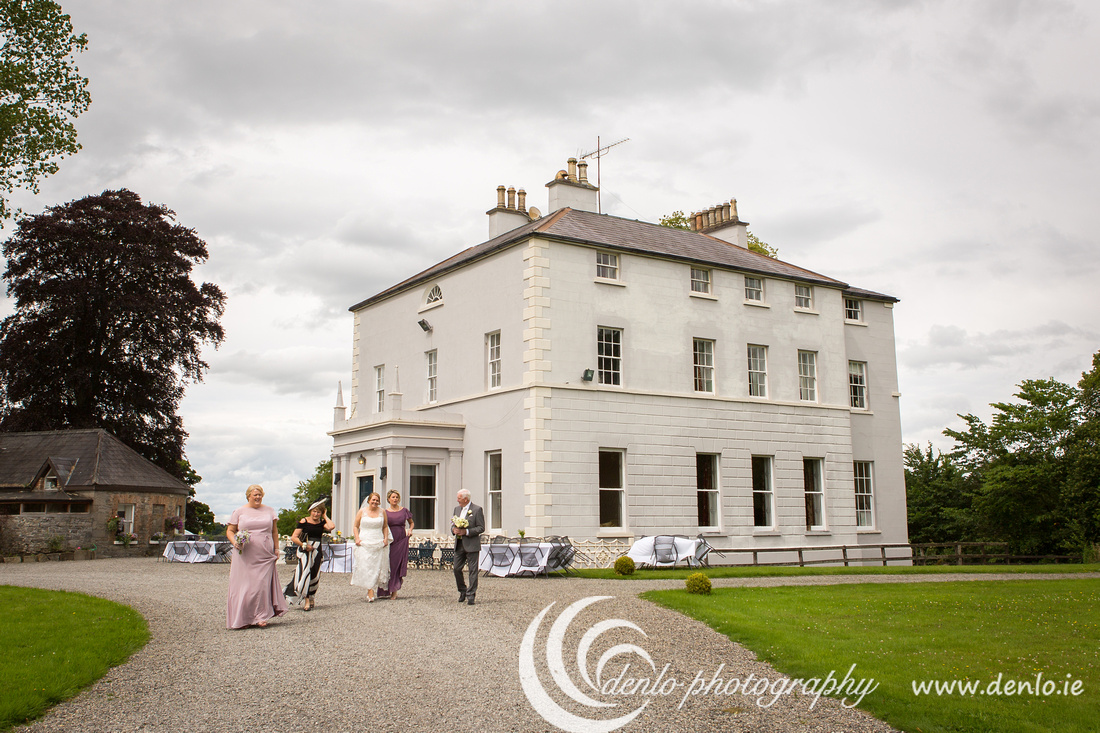 The Bride at Boyne Hill House heading for the Secret Garden