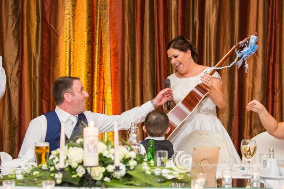 Trim Castle Hotel Wedding Reception-8429
