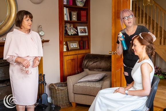 Elaine & Ciaran's wedding morning preparations-3317