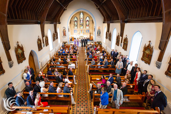 Kildalkey church wedding ceremony-3489