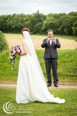 Bridal party photos at Trim Castle-0203
