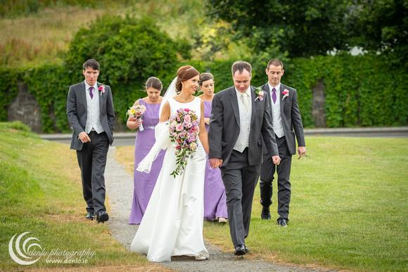 Bridal party photos at Trim Castle-0216