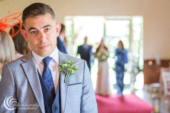 Wedding ceremony at Clonabreany House-4651