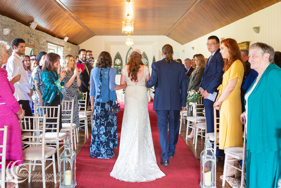 Wedding ceremony at Clonabreany House-7227