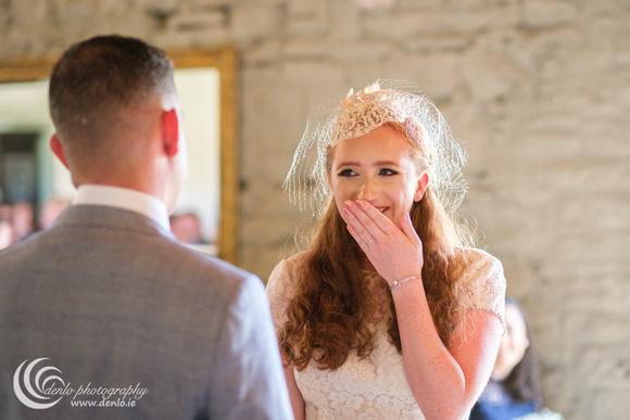 Wedding ceremony at Clonabreany House-4727