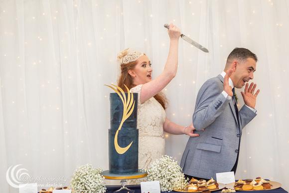 Wedding reception at Clonabreany House-7347