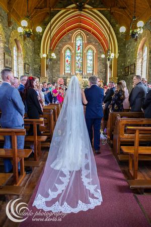 Culmullen Church wedding ceremony Ciara Shane-2769