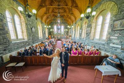 Culmullen Church wedding ceremony Ciara Shane-7221