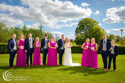 Knightsbrook Hotel wedding drinks reception-7334