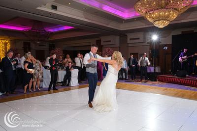 Knightsbrook Hotel wedding first dance-7490
