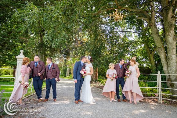 Bridal party photos at Ballymagarvey Village-6507