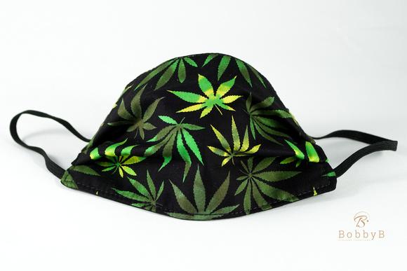 "BobbyB Face mask with ""herbal"" design :-)"
