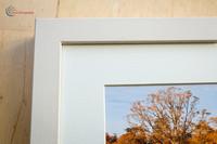 Chunky off white box frame
